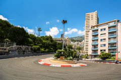 Monte Carlo, Monaco - 02 June 2014. Royalty Free Stock Images