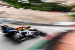 Kevin Magnussen exiting the hairpin
