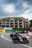 Kevin Magnussen at the hairpin
