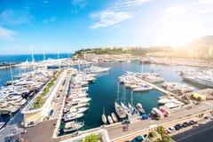 Monte Carlo in Monaco stock photography