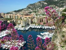 Monte Carlo,Monaco,marina Royalty Free Stock Photos