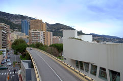Monte Carlo Monaco overpass royalty free stock photos