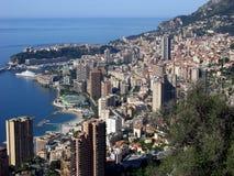 Monte - carlo, Monaco, scenisk sikt Arkivbilder