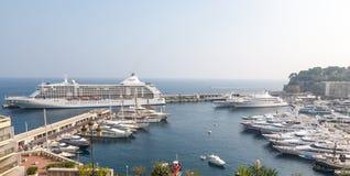 Monte - carlo, Monaco - September 20, 2008: Sikt på Arkivfoton