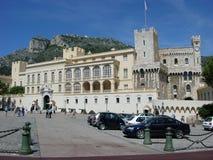 Monte - carlo, Monaco, slott, Grimaldi Arkivbild