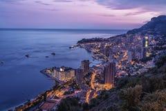 Monte Carlo By Night Fotografía de archivo