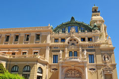 Monte Carlo Opera Royalty Free Stock Photography