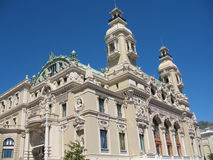 Monte-Carlo: Opera house  Royalty Free Stock Images