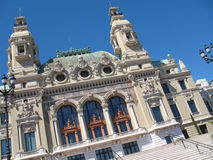 Monte-Carlo : Opera house Royalty Free Stock Images