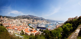 Monte Carlo Panorama Stock Photography