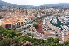 Monte, Carlo panorama - fotografia royalty free