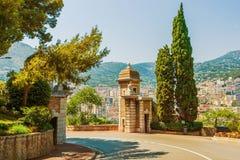 Monte Carlo Park Gate Stock Photography