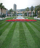 Monte Carlo Park Royalty Free Stock Photography