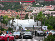 Monte-Carlo Pavillions image stock