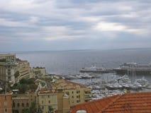 Monte Carlo por la mañana imagenes de archivo
