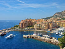 Monte Carlo port Royalty Free Stock Photos
