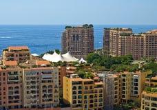 Monte Carlo port Stock Photo