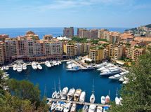 Monte Carlo port Stock Images