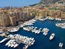 Monte Carlo port Royalty Free Stock Photo
