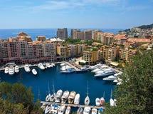Monte Carlo port Stock Photos