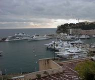 Monte Carlo port Royalty Free Stock Photo