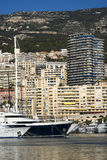 Monte Carlo and the Port Hercules Royalty Free Stock Photos