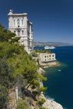 Monte-Carlo, the Principality of Monaco, Western Europe on the Mediterranean Sea Royalty Free Stock Photography