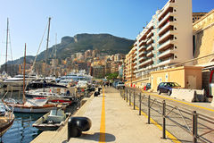 Monte Carlo promenade. Royalty Free Stock Photos