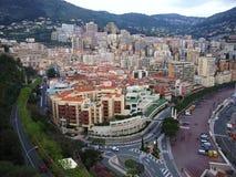 Monte Carlo - Quartiere del porto Stock Afbeelding