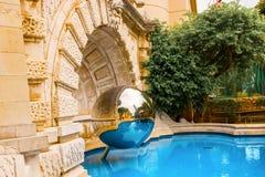 Monte Carlo reflections Stock Photos