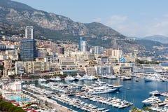 Monte, Carlo schronienie - Fotografia Stock