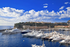 Monte, Carlo schronienie - Obraz Royalty Free