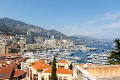 Monte, Carlo schronienie -, Monaco Fotografia Stock