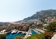 Monte, Carlo schronienie -, Monaco Obraz Stock