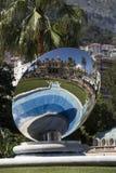 Monte Carlo - Sky Mirror - Monaco Stock Image