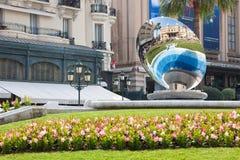Monte Carlo, Spiegel Lizenzfreies Stockfoto