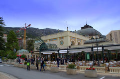 Cafe de Paris,Monte Carlo ,Monaco stock photos