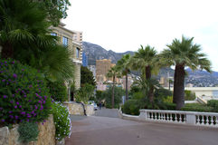 Monte Carlo streets,Monaco Royalty Free Stock Photo