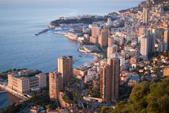 Monte Carlo in the sunrise light Stock Photos