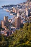 Monte Carlo in the sunrise light Stock Photo