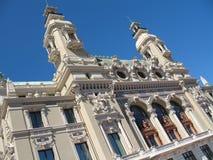 Monte-Carlo: Teatro da ópera de Charles Garnier Fotos de Stock Royalty Free