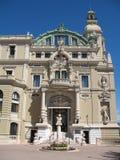 Monte Carlo: Teatro de la ópera Imagen de archivo libre de regalías