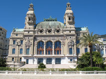 Monte Carlo: Teatro de la ópera Imagenes de archivo