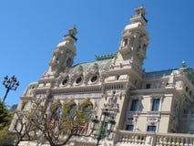 Monte Carlo: Teatro de la ópera Imágenes de archivo libres de regalías
