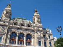 Monte Carlo: Teatro de la ópera de Charles Garnier Fotos de archivo