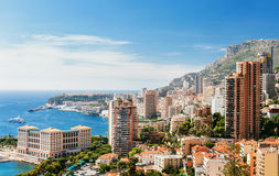 Monte Carlo top View Royalty Free Stock Photo