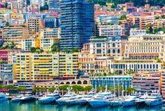 Monte Carlo Urban Scene Foto de archivo