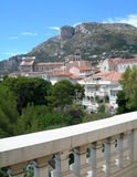 Monte-Carlo view, Monaco. This is the Monte-Carlo city view, mountain side Stock Image