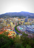 Monte Carlo  view Royalty Free Stock Photos