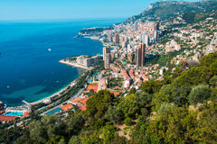 Monte Carlo view Royalty Free Stock Photo